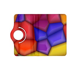 3d Colorful Shapes Kindle Fire Hd (2013) Flip 360 Case by LalyLauraFLM