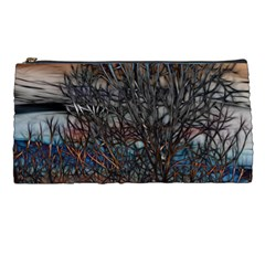 Abstract Sunset Tree Pencil Case