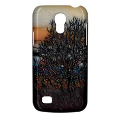 Abstract Sunset Tree Samsung Galaxy S4 Mini (gt I9190) Hardshell Case  by bloomingvinedesign