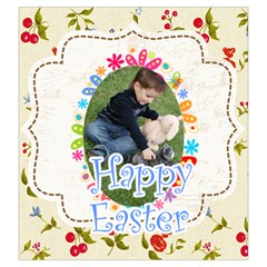 Easter By Easter   Drawstring Pouch (large)   0it4nb0mrvjg   Www Artscow Com Front
