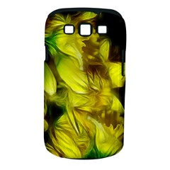 Abstract Yellow Daffodils Samsung Galaxy S Iii Classic Hardshell Case (pc+silicone) by bloomingvinedesign