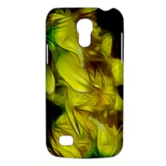 Abstract Yellow Daffodils Samsung Galaxy S4 Mini (gt I9190) Hardshell Case  by bloomingvinedesign