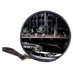 Adams Street Bridge Cd Wallet by bloomingvinedesign