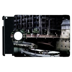 Adams Street Bridge Apple Ipad 3/4 Flip 360 Case by bloomingvinedesign