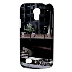 Adams Street Bridge Samsung Galaxy S4 Mini (gt I9190) Hardshell Case  by bloomingvinedesign