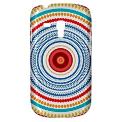 Colorful Round Kaleidoscope Samsung Galaxy S3 Mini I8190 Hardshell Case by LalyLauraFLM