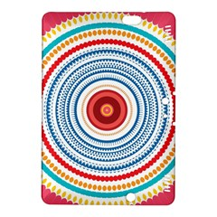 Colorful Round Kaleidoscope Kindle Fire Hdx 8 9  Hardshell Case by LalyLauraFLM
