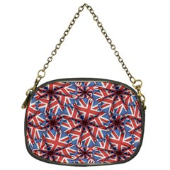 Heart Shaped England Flag Pattern Design Chain Purse (one Side)