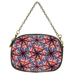 Heart Shaped England Flag Pattern Design Chain Purse (two Sided)  by dflcprints