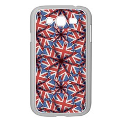 Heart Shaped England Flag Pattern Design Samsung Galaxy Grand Duos I9082 Case (white)