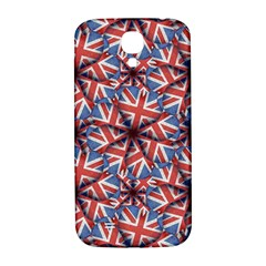 Heart Shaped England Flag Pattern Design Samsung Galaxy S4 I9500/i9505  Hardshell Back Case by dflcprints