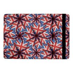 Heart Shaped England Flag Pattern Design Samsung Galaxy Tab Pro 10 1  Flip Case by dflcprints