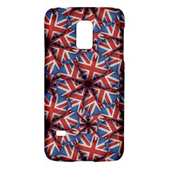 Heart Shaped England Flag Pattern Design Samsung Galaxy S5 Mini Hardshell Case