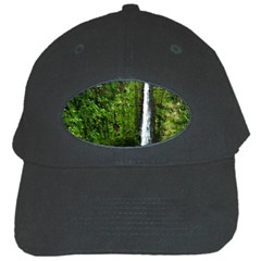 Akaka Falls Black Baseball Cap by bloomingvinedesign