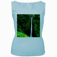 Akaka Falls Women s Tank Top (baby Blue) by bloomingvinedesign
