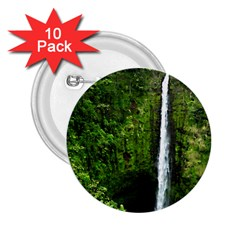 Akaka Falls 2 25  Button (10 Pack) by bloomingvinedesign
