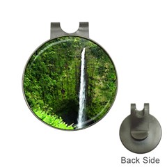 Akaka Falls Hat Clip With Golf Ball Marker by bloomingvinedesign