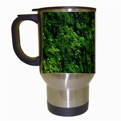 Akaka Falls Travel Mug (white) by bloomingvinedesign