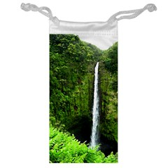 Akaka Falls Jewelry Bag by bloomingvinedesign