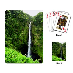 Akaka Falls Playing Cards Single Design by bloomingvinedesign