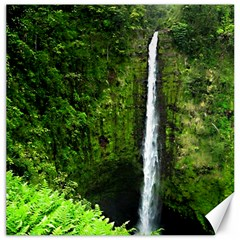Akaka Falls Canvas 16  X 16  (unframed) by bloomingvinedesign