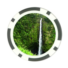 Akaka Falls Poker Chip by bloomingvinedesign