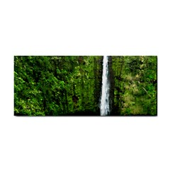 Akaka Falls Hand Towel by bloomingvinedesign