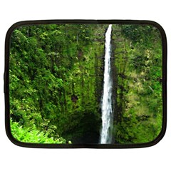 Akaka Falls Netbook Sleeve (xl) by bloomingvinedesign