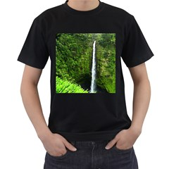Akaka Falls Men s T Shirt (black) by bloomingvinedesign
