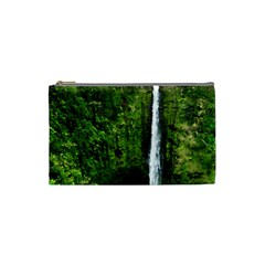 Akaka Falls Cosmetic Bag (small) by bloomingvinedesign