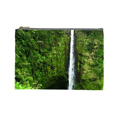 Akaka Falls Cosmetic Bag (large) by bloomingvinedesign