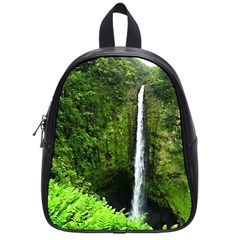 Akaka Falls School Bag (small) by bloomingvinedesign