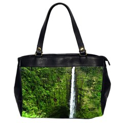 Akaka Falls Oversize Office Handbag (two Sides) by bloomingvinedesign