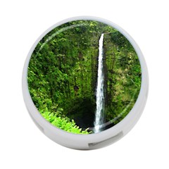 Akaka Falls 4 Port Usb Hub (one Side) by bloomingvinedesign