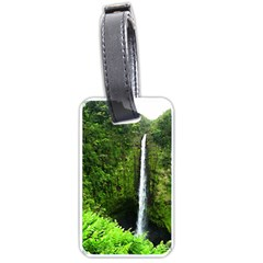Akaka Falls Luggage Tag (two Sides) by bloomingvinedesign