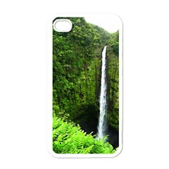 Akaka Falls Apple Iphone 4 Case (white) by bloomingvinedesign