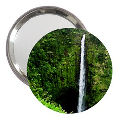 Akaka Falls 3  Handbag Mirror by bloomingvinedesign