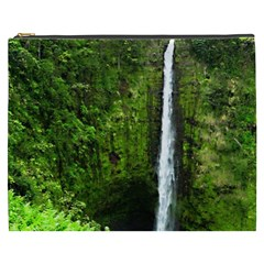 Akaka Falls Cosmetic Bag (xxxl) by bloomingvinedesign