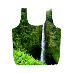 Akaka Falls Reusable Bag (m) by bloomingvinedesign