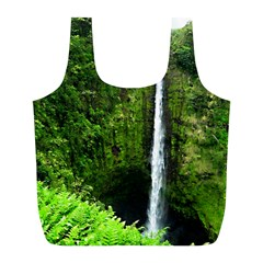 Akaka Falls Reusable Bag (l) by bloomingvinedesign