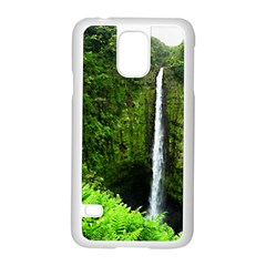 Akaka Falls Samsung Galaxy S5 Case (white) by bloomingvinedesign