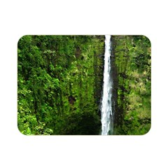 Akaka Falls Double Sided Flano Blanket (mini) by bloomingvinedesign