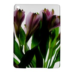Pink Flowers On White Apple Ipad Air 2 Hardshell Case by bloomingvinedesign