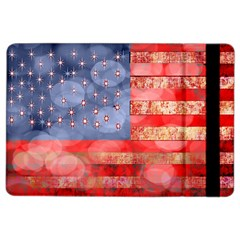 Distressed American Flag Apple Ipad Air 2 Flip Case by bloomingvinedesign