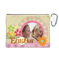 Easter By Joely   Canvas Cosmetic Bag (xl)   Atqpj4cgdt1d   Www Artscow Com Back