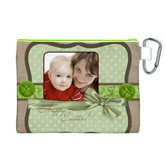 Easter By Joely   Canvas Cosmetic Bag (xl)   0931u6l8c2o6   Www Artscow Com Back