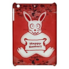 Cute Bunny Happy Easter Drawing Illustration Design Apple Ipad Mini Hardshell Case by dflcprints