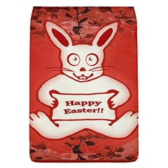 Cute Bunny Happy Easter Drawing Illustration Design Removable Flap Cover (small) by dflcprints