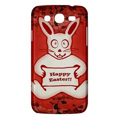Cute Bunny Happy Easter Drawing Illustration Design Samsung Galaxy Mega 5 8 I9152 Hardshell Case