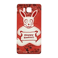 Cute Bunny Happy Easter Drawing Illustration Design Samsung Galaxy Alpha Hardshell Back Case by dflcprints